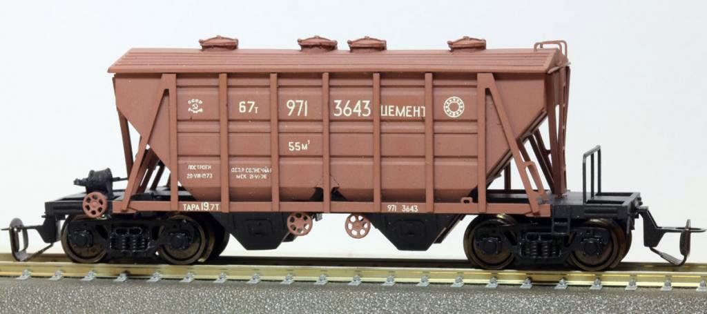 Крытые вагоны 11-715