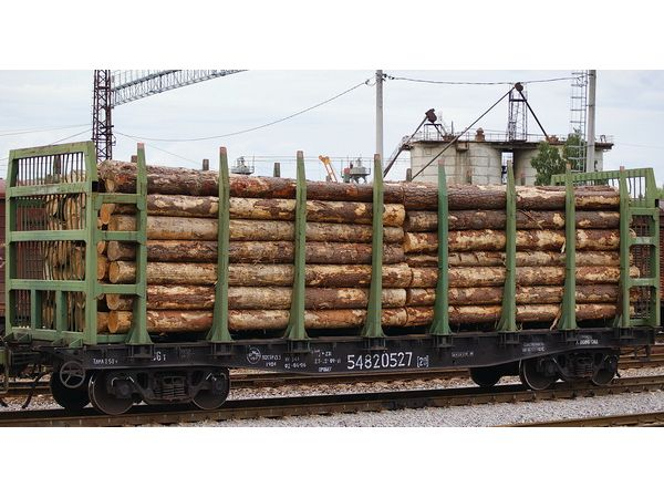 Платформа для лесоматериалов мод.23-4000