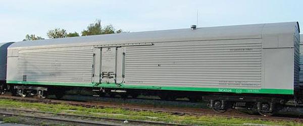 Крытый вагон мод.16-380-03