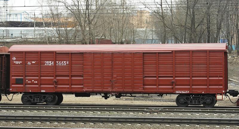 Крытые вагоны 11-1807
